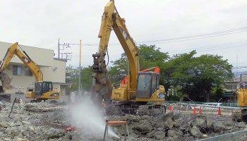土木一式工事、解体工事、とび・土工・コンクリートの施工実績